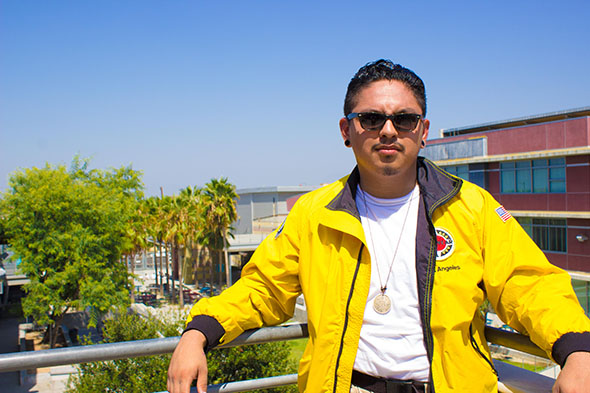 City Year Los Angeles Team Member Abraham Galan, 22, is from Carson, California and graduated from Whittier College in 2016. He plans to attend graduate school and become a high school counselor in high-need communities.