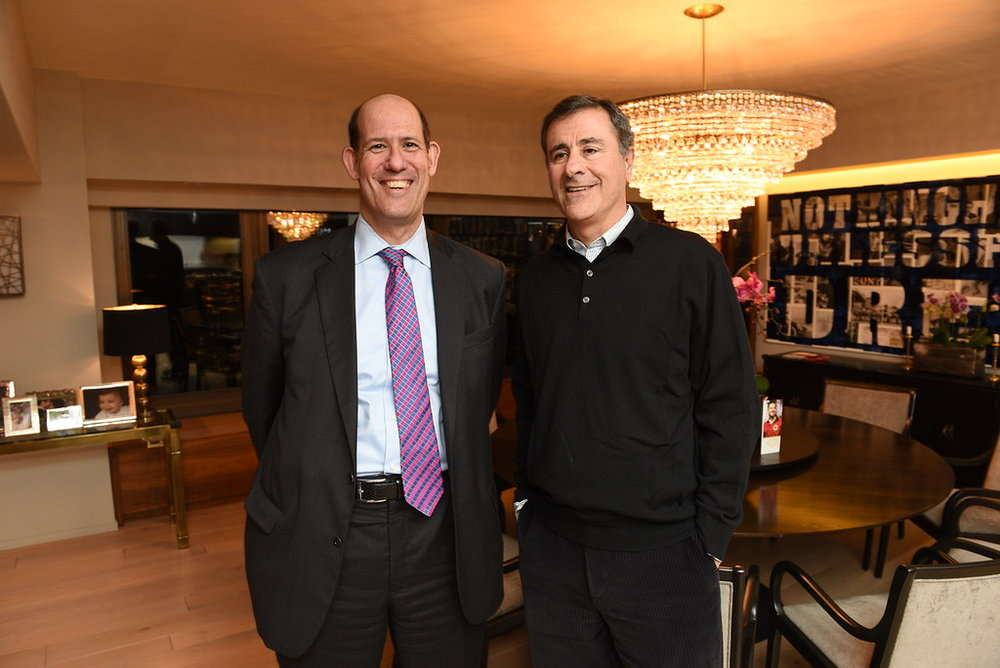 City Year Chicago Founder, Michael Alter, and City Year Chicago Site Board Vice Chair, Jeff Cohodes