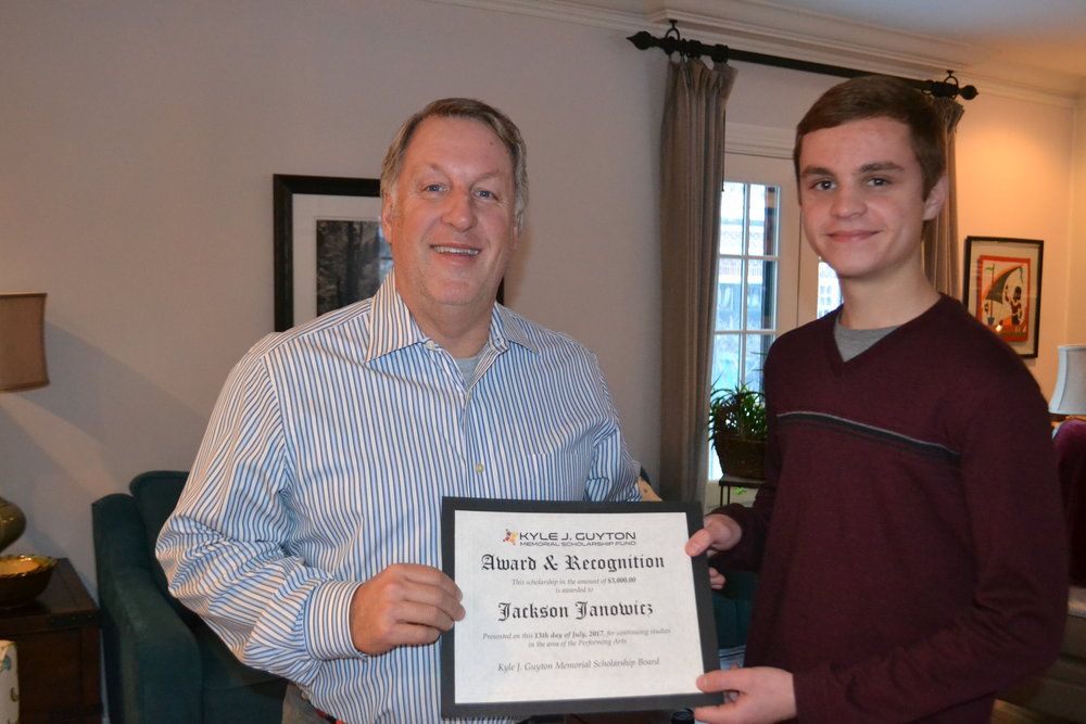 2017 Awardee: Jackson Janowicz