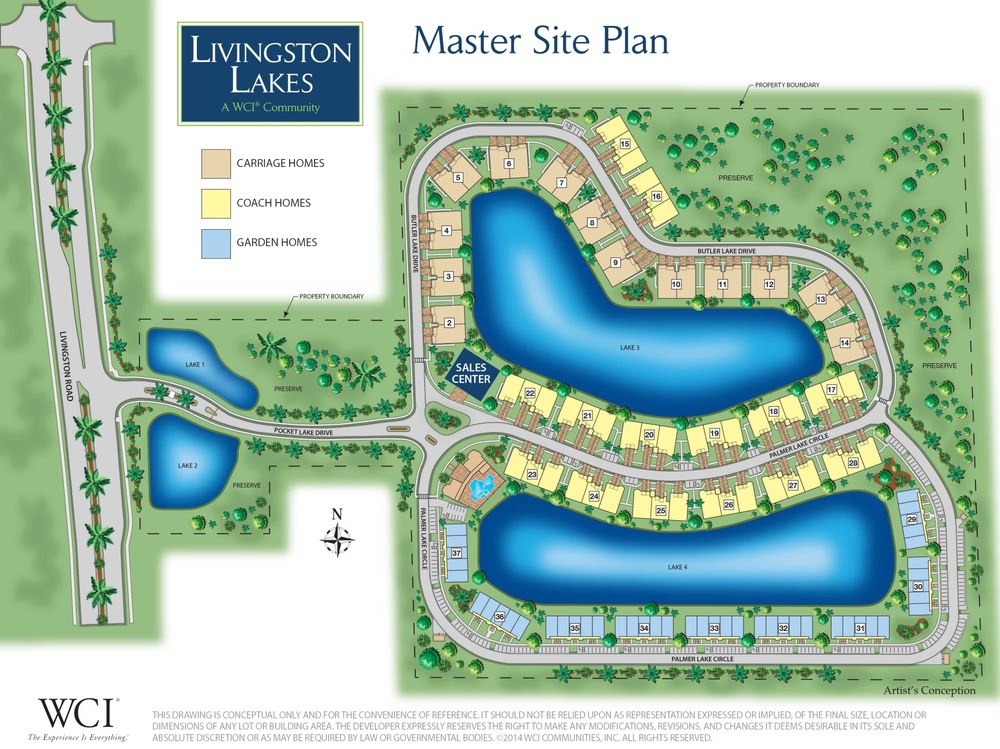 Livingston Lakes Naples | Site Plan