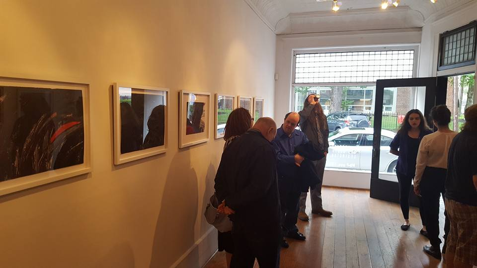 Opening night at  Underlying Colors  (Institute 193, Lexington)
