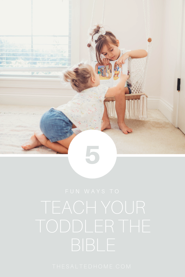Teaching toddlers the Bible can be fun! Here are a few ways we teach our children to hide God's word in their hearts. From memorizing scripture, to learning about Bible stories, to applying the Bible in every day life... I hope you enjoy these resources!