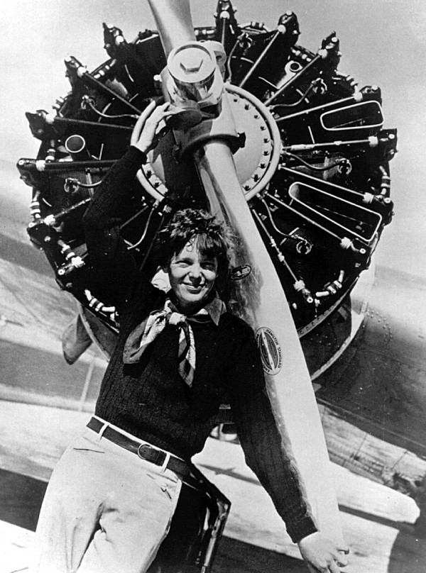 Happy Birthday, Amelia. gypsymodel: Amelia Earhart