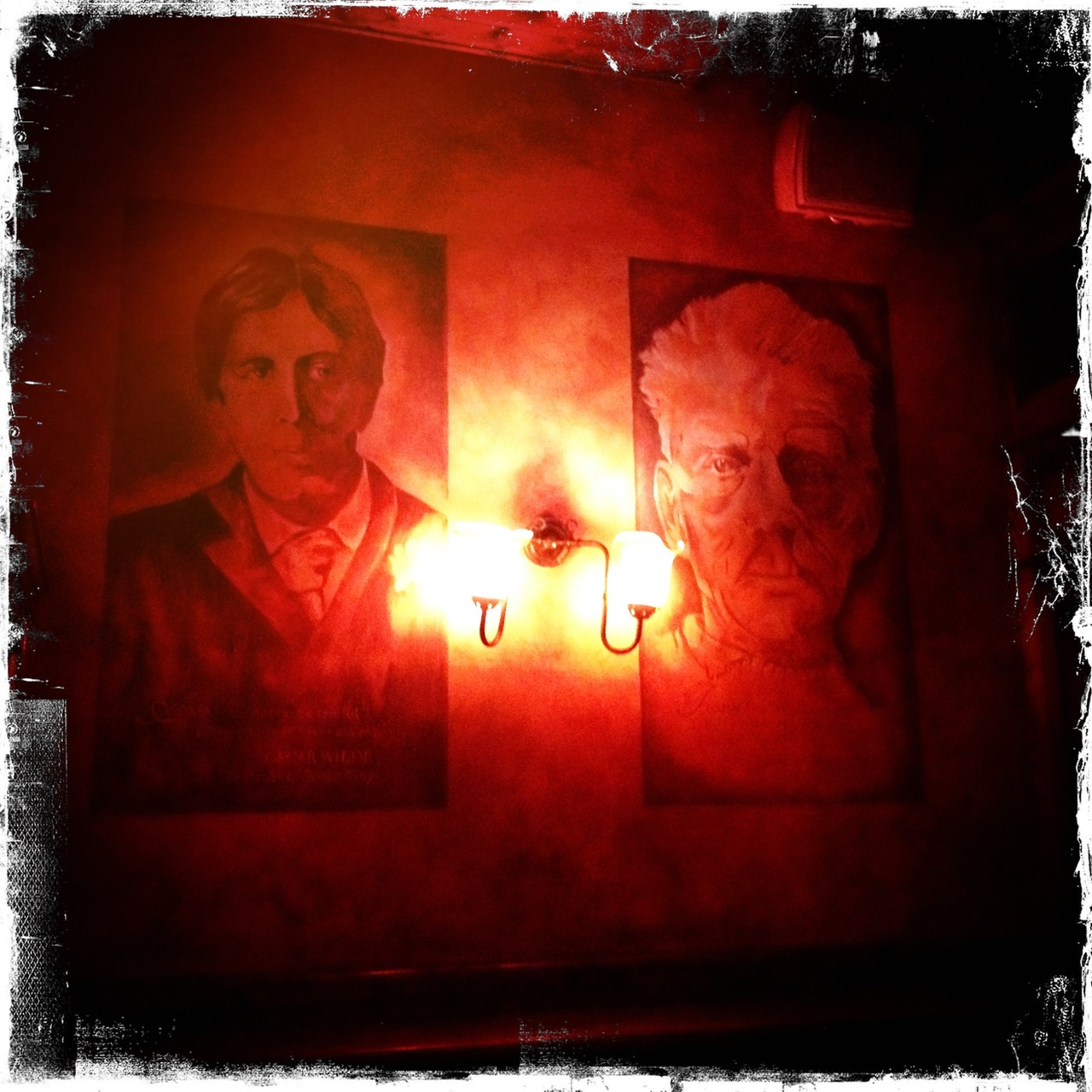 Hangin' with Wilde and Beckett @FadoDC, #pub of dreams. #dc #EireApparent