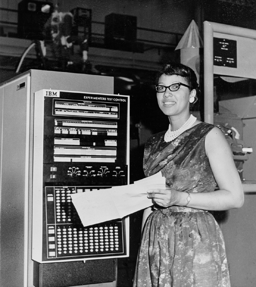 "vintageblackglamour :      Melba Roy, NASA Mathmetician, at the Goddard Space Flight Center in Maryland in 1964. Ms. Roy, a 1950 graduate of Howard University, led a group of NASA mathmeticians known as ""computers"" who tracked the Echo satellites. The first time I shared Ms. Roy on VBG, my friend Chanda P  rescod-Weinstein, a former postdoc in astrophysics at NASA, helpfully explained what Ms. Roy did in the comment section. I am sharing Chanda's comment again here: ""By the way, since I am a physicist, I might as well explain a little bit about what she did: when we launch satellites into orbit, there are a lot of things to keep track of. We have to ensure that gravitational pull from other bodies, such as other satellites, the moon, etc. don't perturb and destabilize the orbit. These are extremely hard calculations to do even today, even with a machine-computer. So, what she did was extremely intense, difficult work. The goal of the work, in addition to ensuring satellites remained in a stable orbit, was to know where everything was at all times. So they had to be able to calculate with a high level of accuracy. Anyway, that's the story behind orbital element timetables"". Photo: NASA/Corbis."