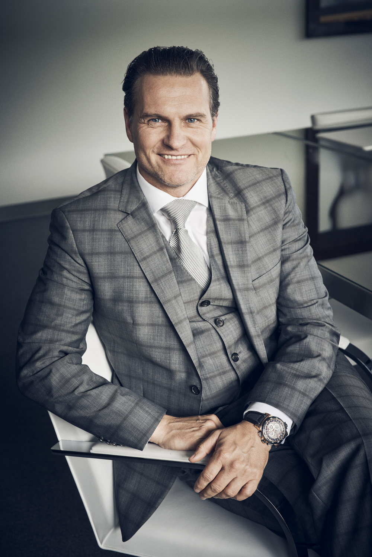 Sascha Moeri CEO Carl F. Bucherer