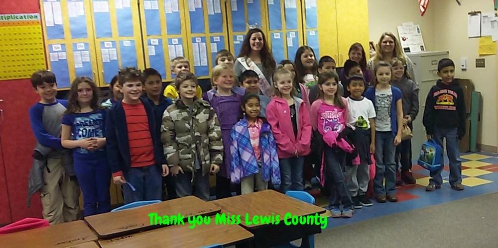 Miss Lewis County Visit