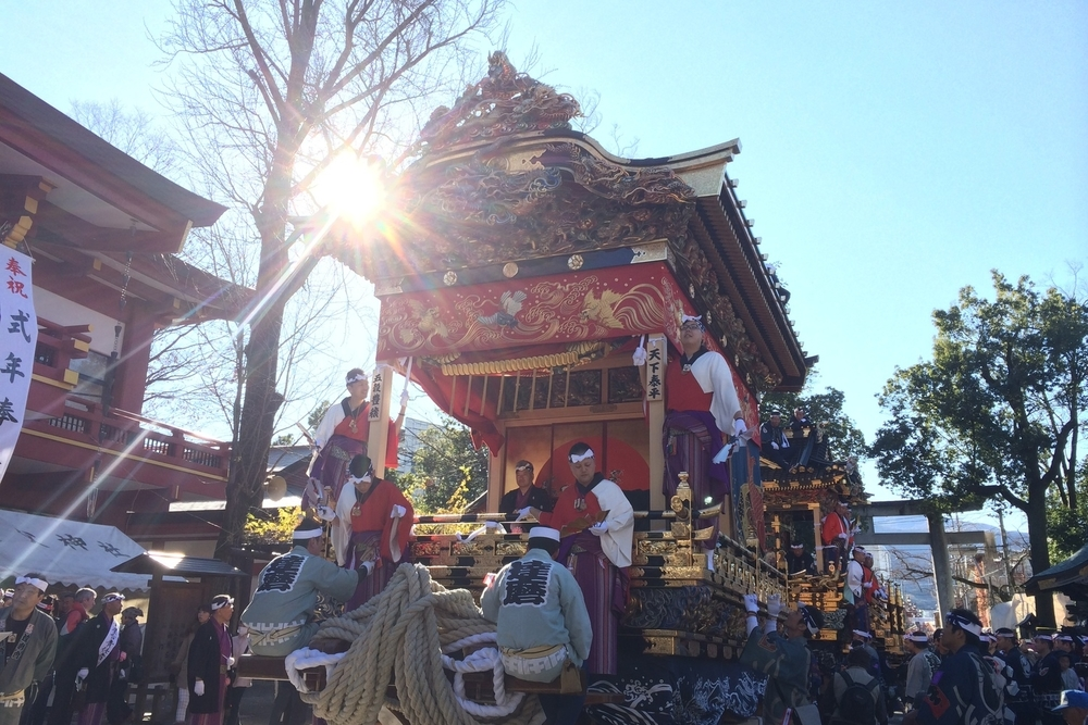 One of the biggest three Japanese festivals in Chichibu, Saitama.