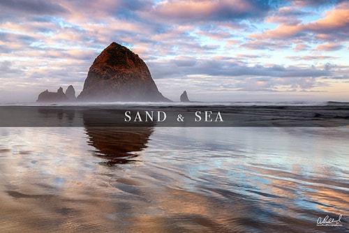Sand Sea Ocean Landscape Photography