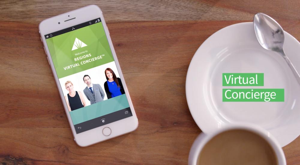 Regions Virtual Concierge