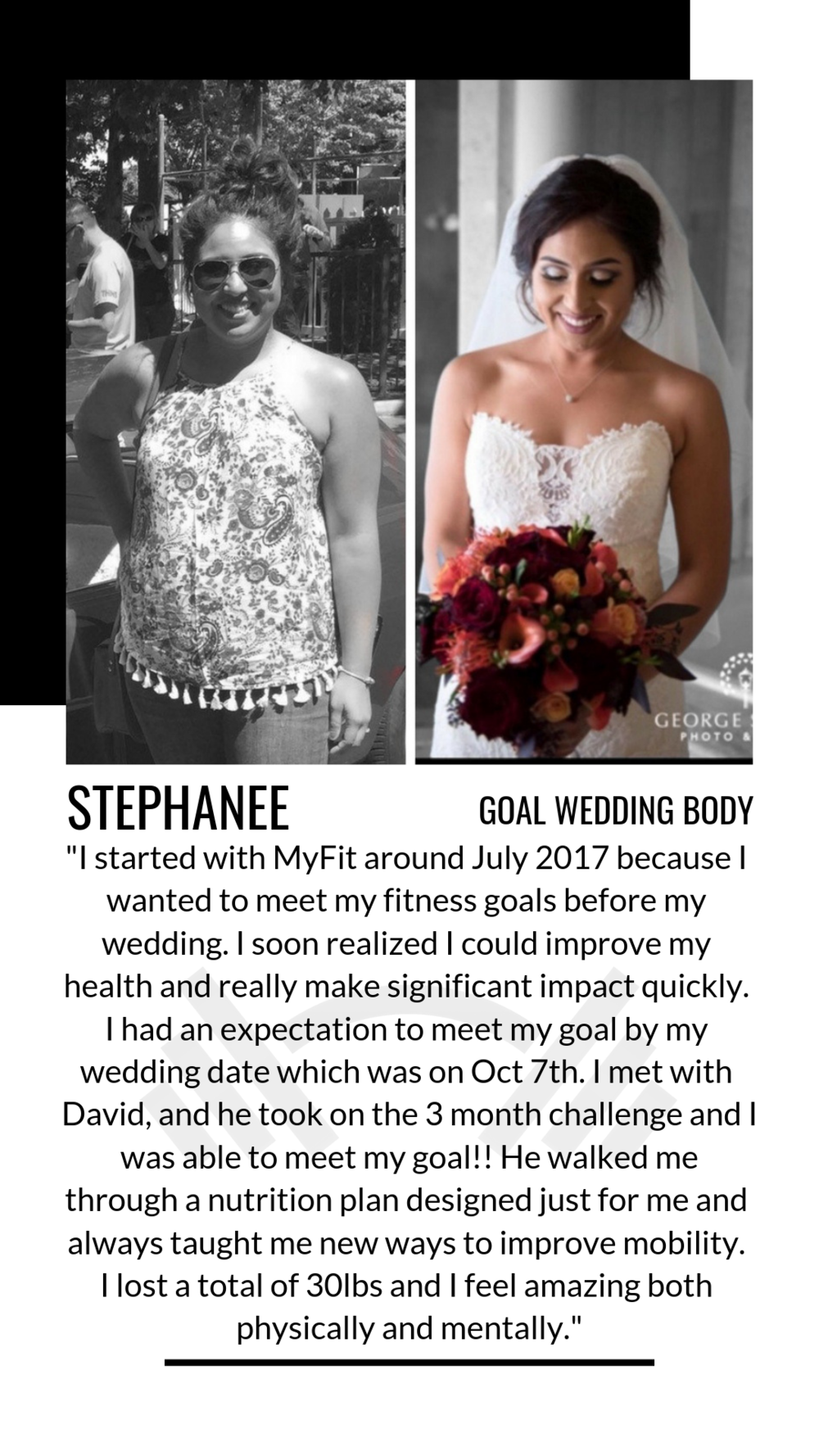 Goal Wedding Body