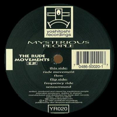 Mysterious People - The Rude Movements EP