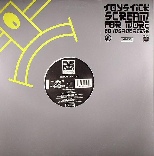 Joystick - Go Insane (RMX) B/W Scream For More