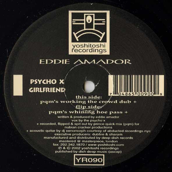 Eddie Amador - Psycho X Girlfriend