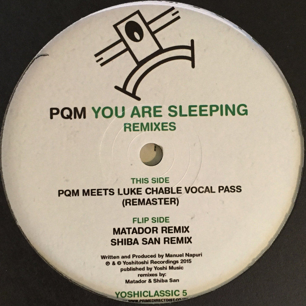 PQM - You Are Sleeping Remixes $10