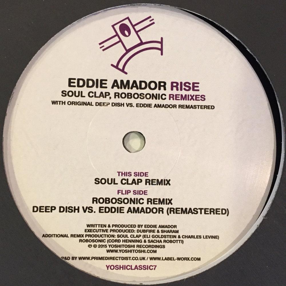 Eddie Amador - Rise Remixes $10