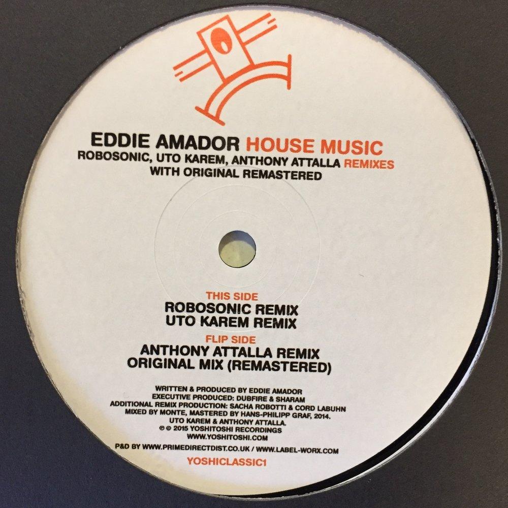 Eddie Amador - House Music Remixes $10