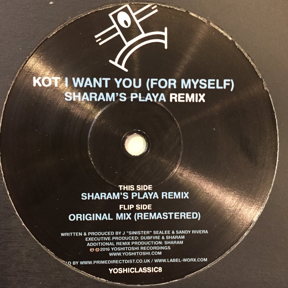 KOT - I Want You (For Myself) Sharam's Playa Remix] $10