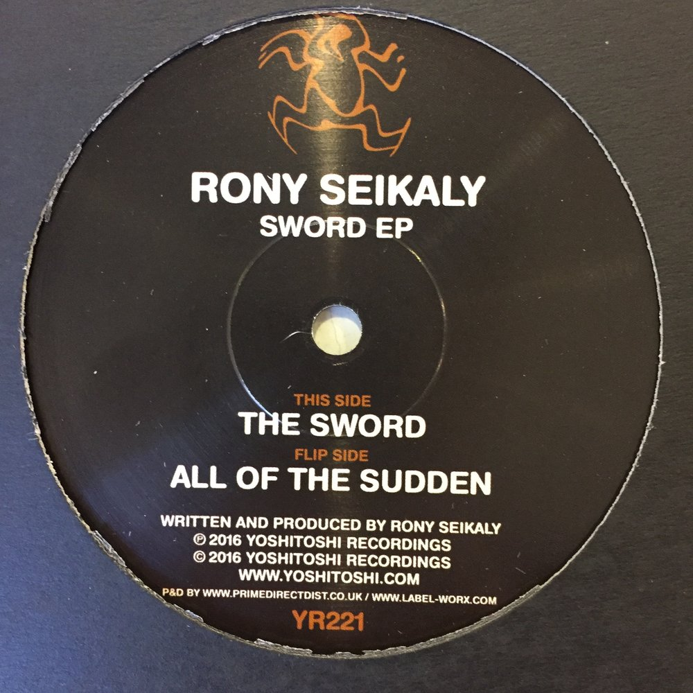 Rony Seikaly - The Sword EP $10