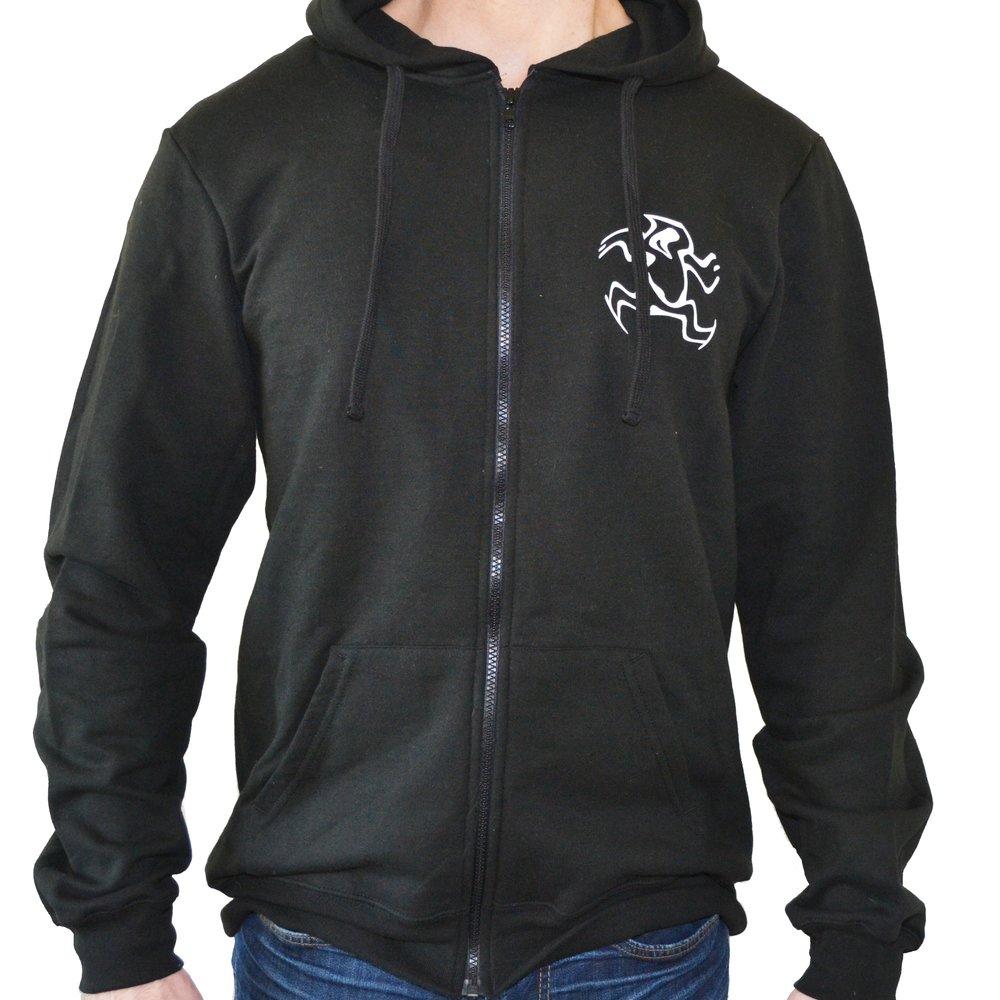 Warrior Zip Hoodie - $35