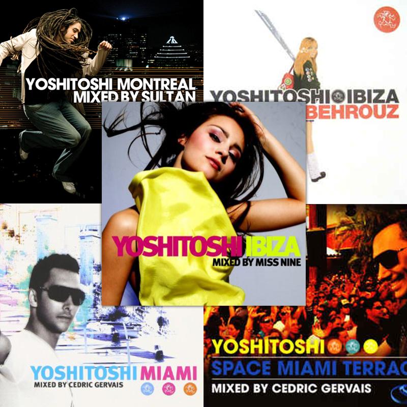 Yoshitoshi Global Compilation Pack (5 x CD)  $15.00