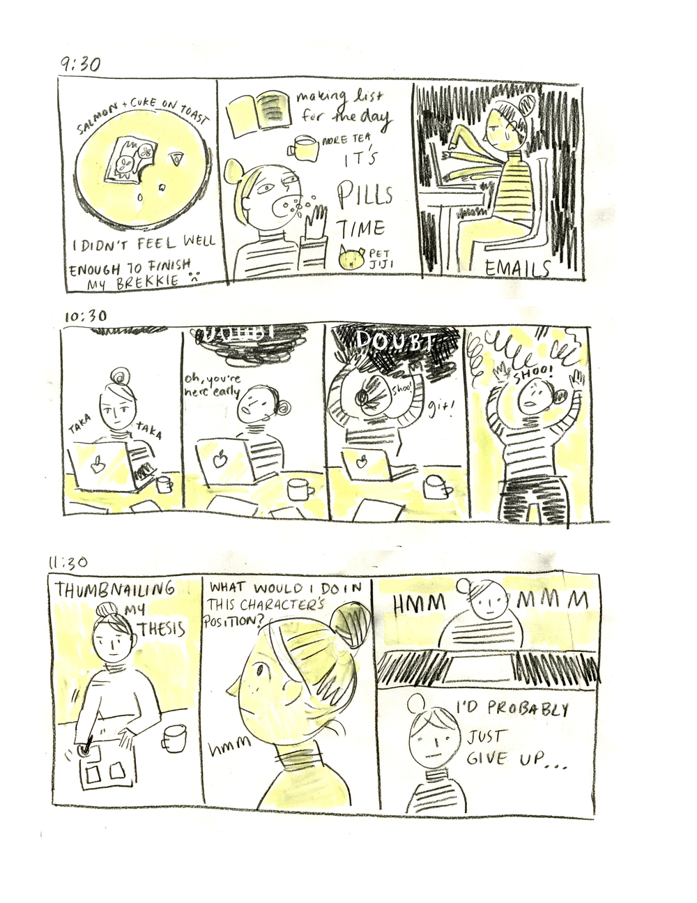 Hourly Comics