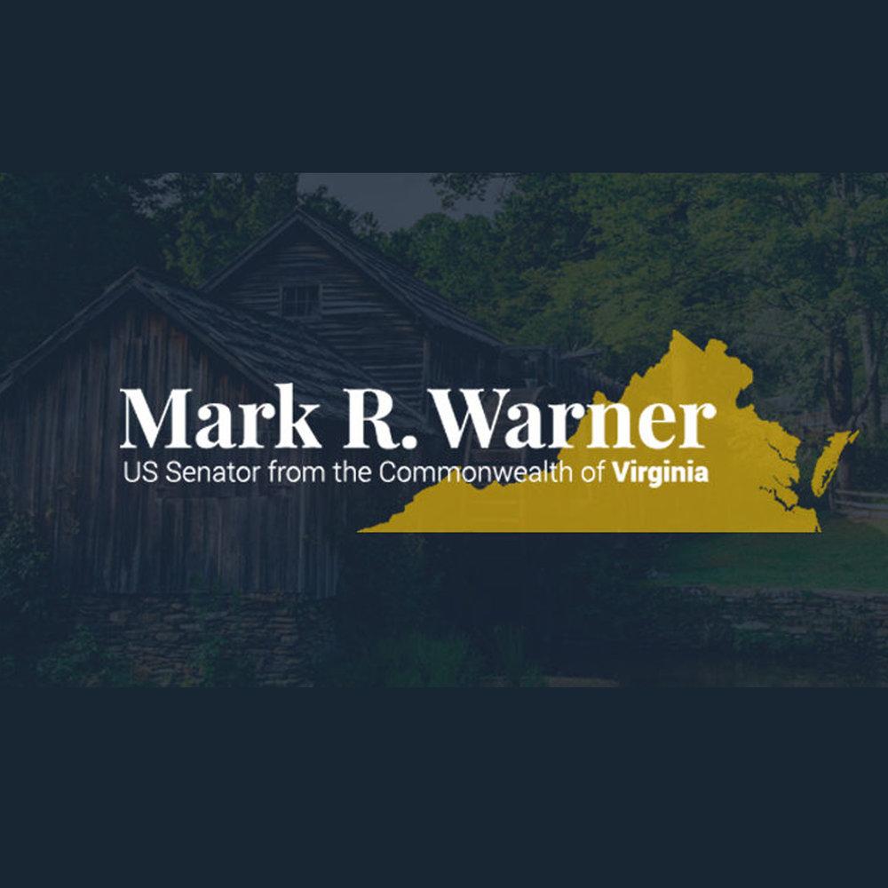 VA Mark Warner senator grants emergency backup generator