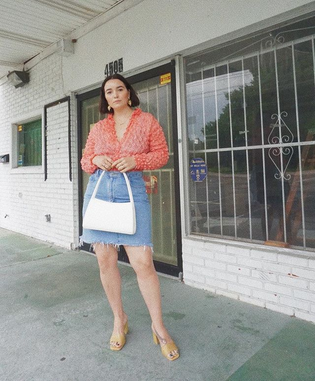 The SCRUNCHIE top. Never ever ever did I think I'd be in one of these again. I love how old things become new again. It's so fun to play around with clothes! Why not?! ⁣ ⁣ #whatiwore #whatshewore #wiw #ootd #instastyle #alwaysplaydressup #vintage #thrifted #vintagestyle #vintagefashion #thriftstorestyle #consciousfashion #recycledfashion #thriftstorefinds #vintagelover #blogger #fashionblogger #styleblogger #floridablogger #lovelakeland #style #styled #styleitup #fashion