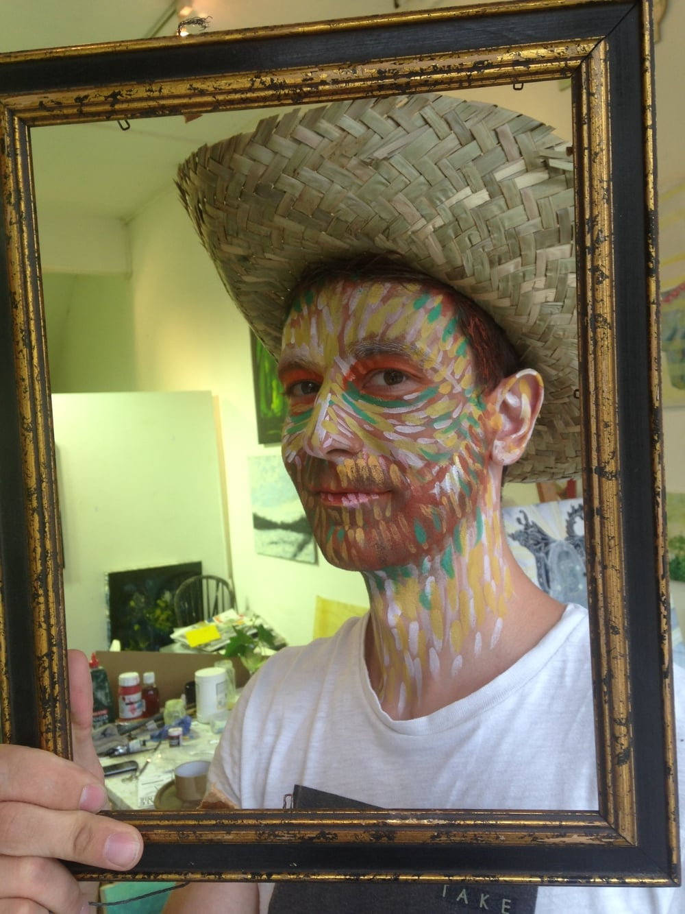 Van Gough Self Portrait Face Paint