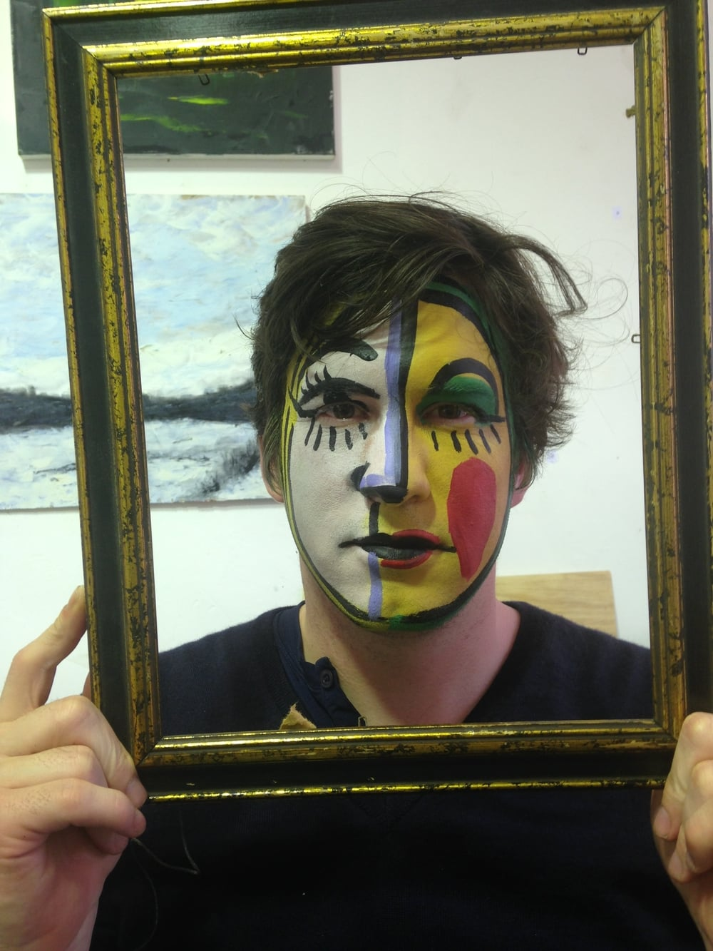 Picasso Portrait face painting