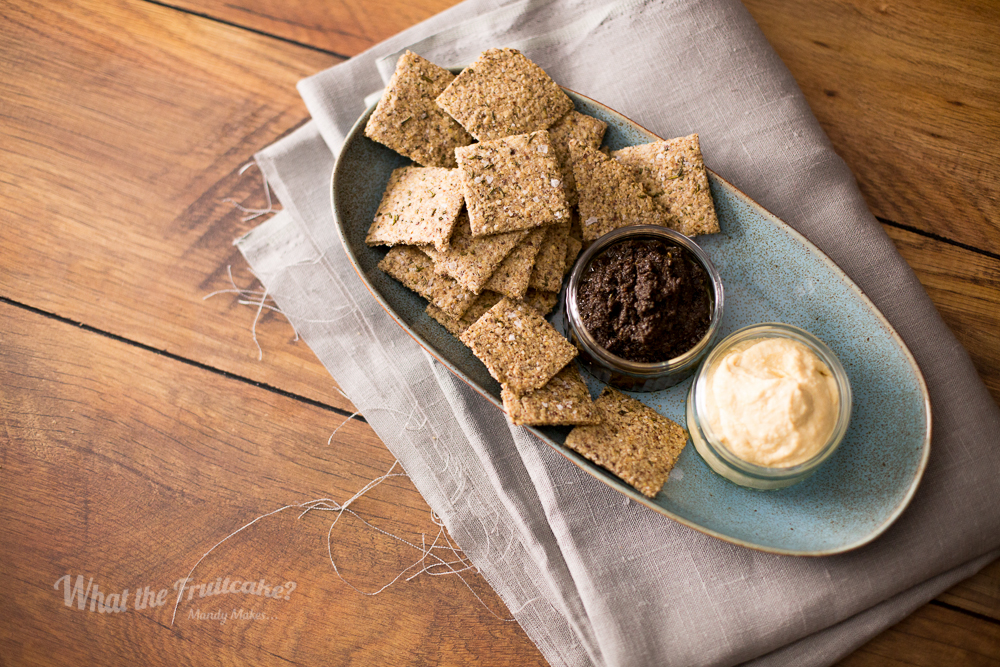 Rosemary Oat Crackers
