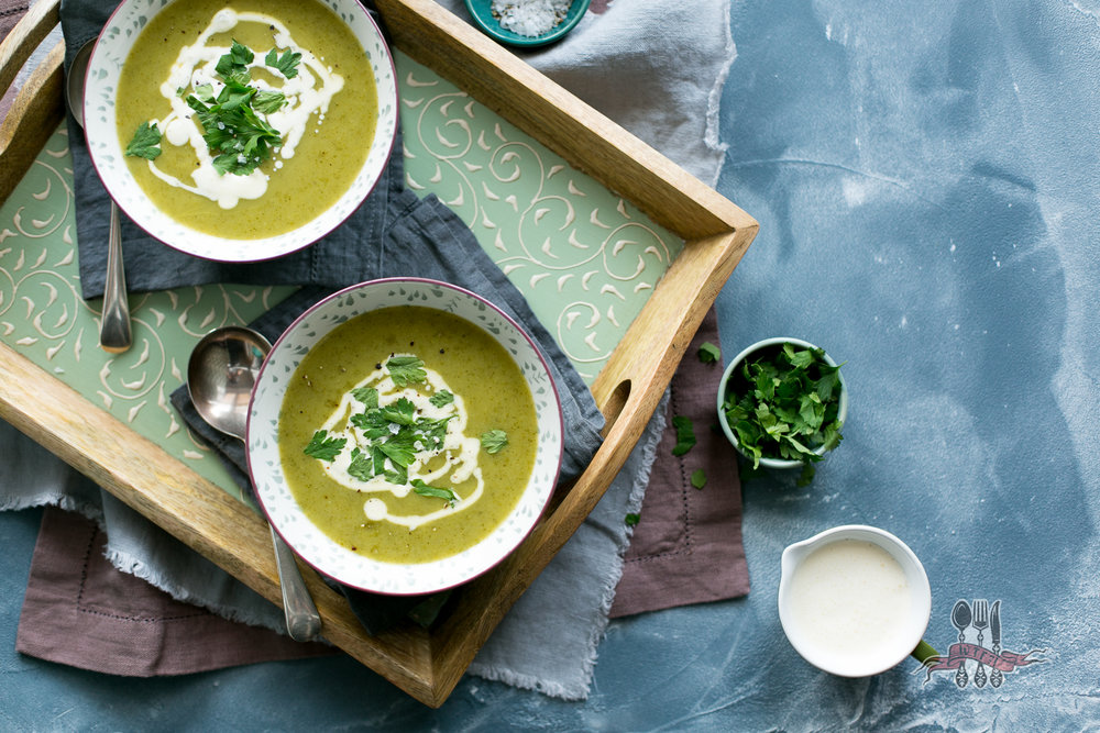 Soup's Up... Naturally Sweet & Creamy Courgette Soup