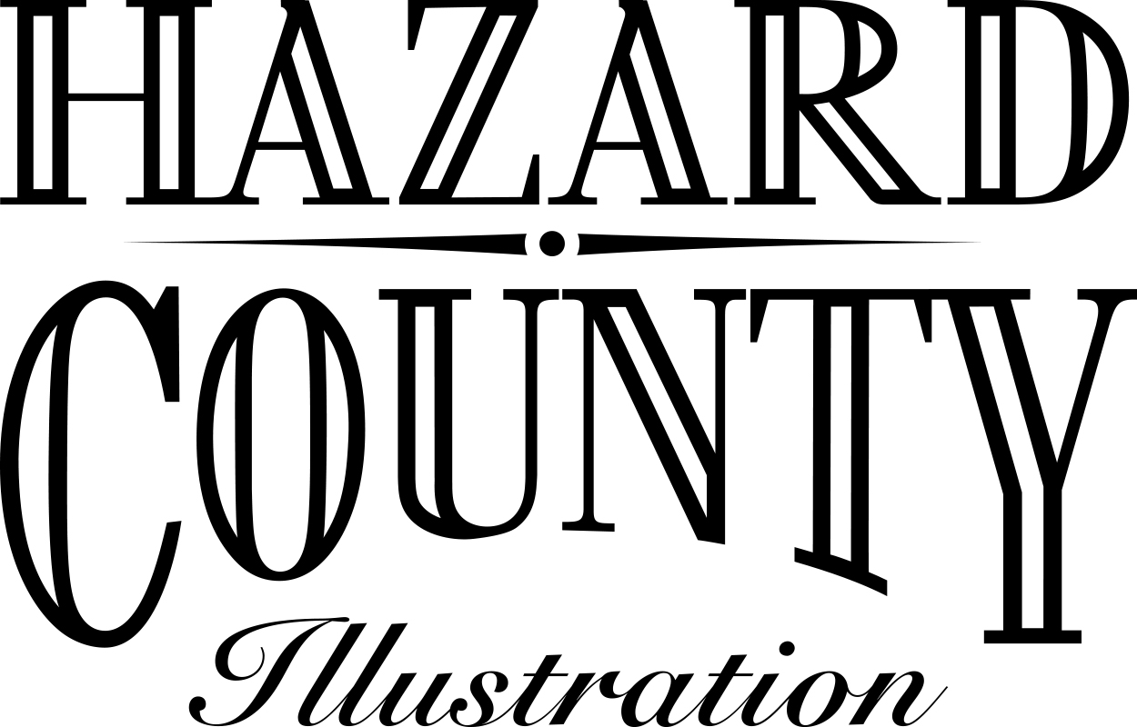 Hazard-County Illustration