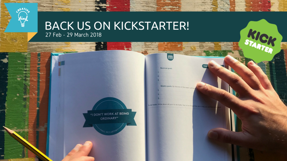 Top Performer Journal: Live on Kickstarter