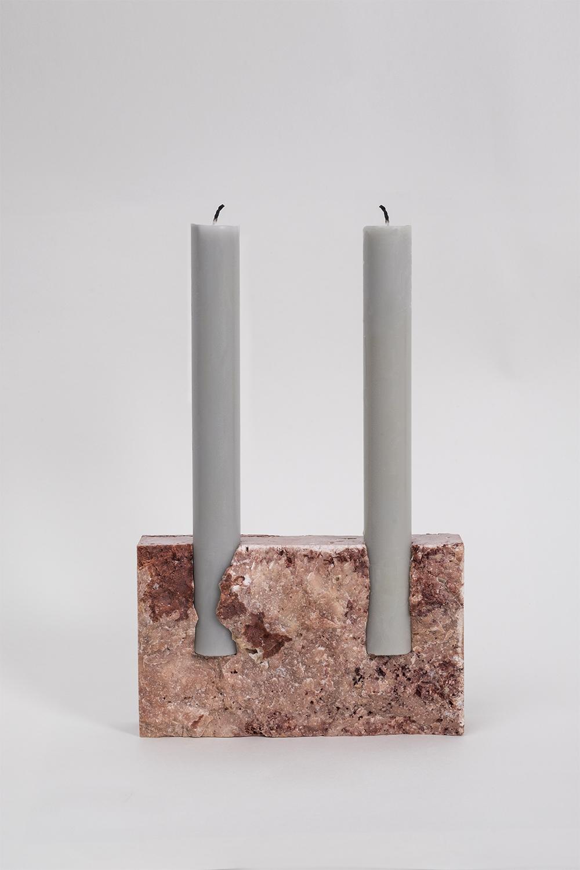 Snug candle holder_Red travertine_01.jpg
