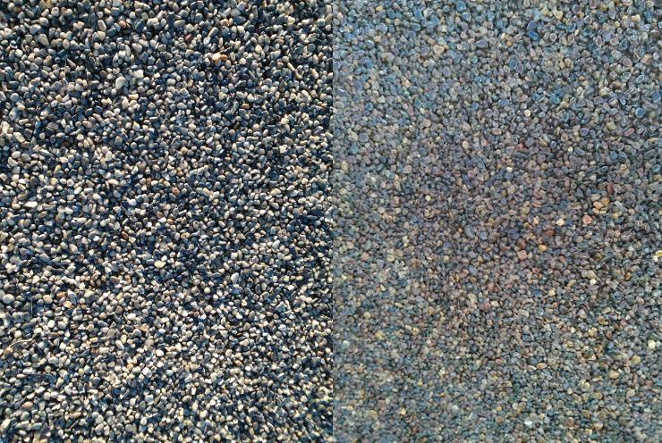 Pebble Stone Epoxy Floors Custom Coatings Concrete Floor
