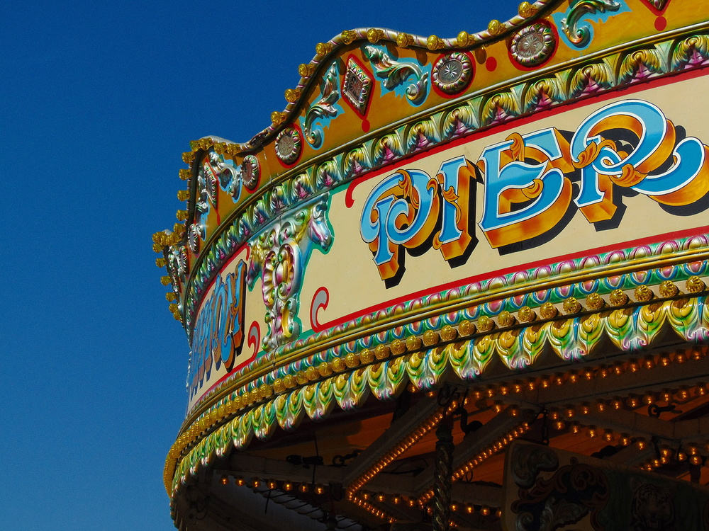 Wondering-Through-Brighton-Pier-Carousel