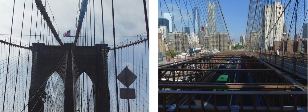 Wondering-Through-New-York-Brooklyn-Bridge-Flag-Traffic.JPG