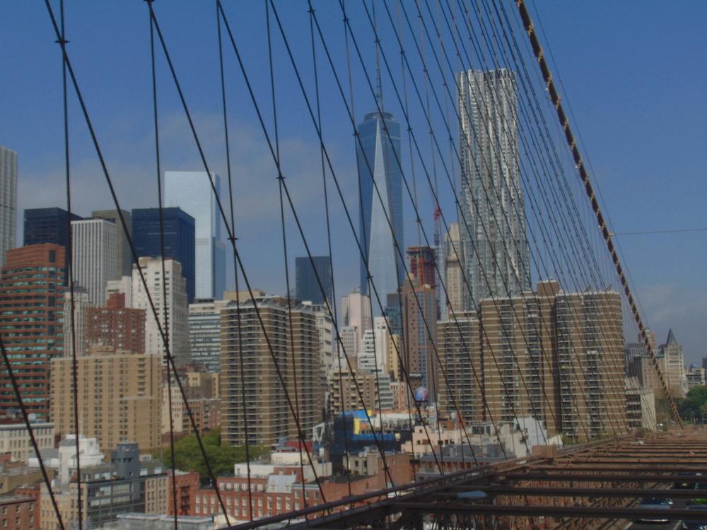 Wondering-Through-New-York-Brooklyn-Bridge-View-Freedom-Tower-Downtown.JPG