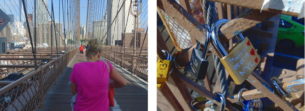 Wondering-Through-New-York-Brooklyn-Bridge-Kirsty-Walking-Wedding-Padlock.JPG
