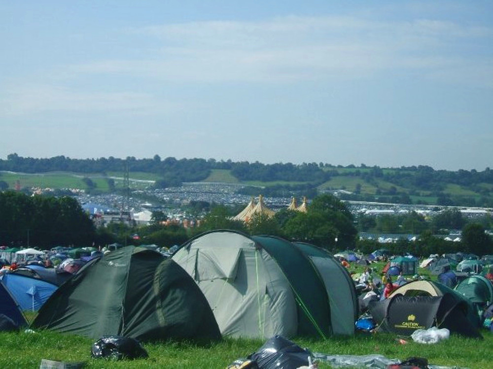 Wondering-Through-Glastonbury-View-over-Campsites.JPG