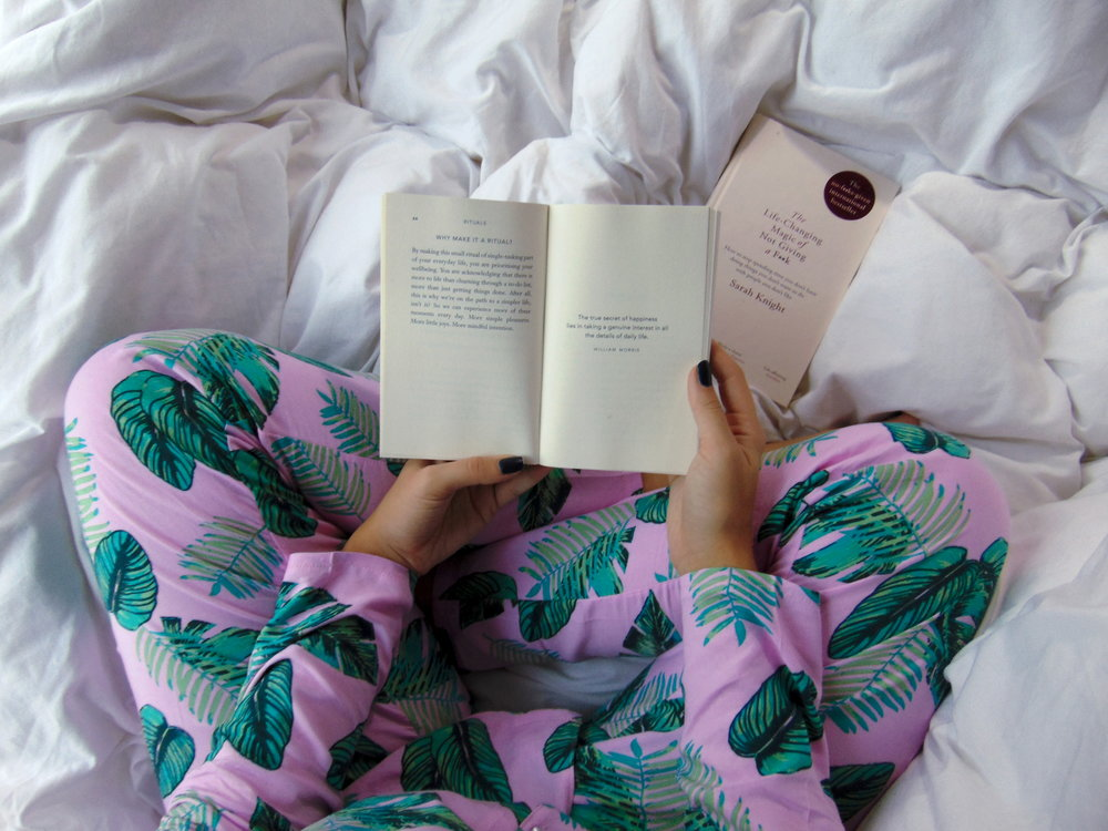 Wondering-Through-Lblogger-UK-Blog-Onto-the-next-Simple-living-Bed-Flatlay-Reading.JPG