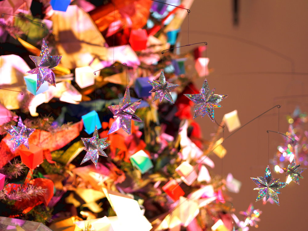 Wondering-Through-Visit-New-York-Manhattan-Travel-Blogger-American-Natural-History-Museum-Origami-Tree.JPG