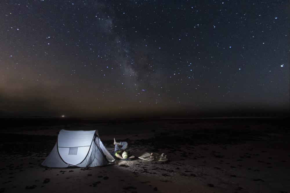 starsgazing in fuerteventura. starslight reserve