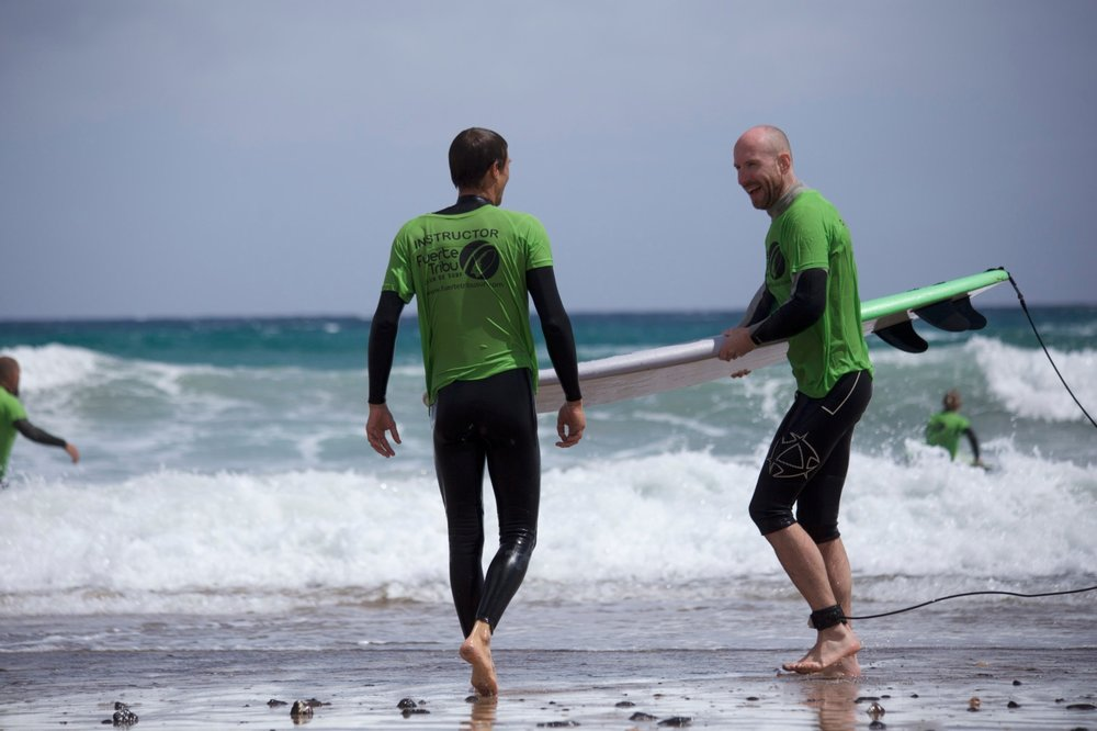 Work & Surf programs | The Hub Fuerteventura