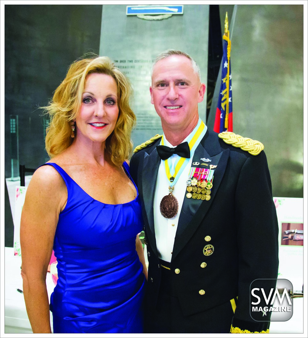 Stephanie and BG Pete Jones - MCoE Commanding General.