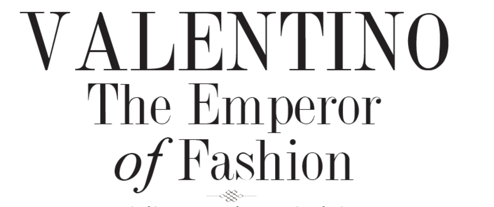 During his 45-year career, haute couturier Valentino Garavani dressed everyone from Hollywood leading ladies (Gwyneth Paltrow, Julia Roberts) to beau monde beauties (Jackie Kennedy, Liz Taylor) to international royalty (Marie Chantal of Greece, Princess Diana). All wore his frothy evening confections, many in his signature red. Ultra-feminine, classy, and sophisticated are often words used to describe Valentino's inimitable style. In all his years of designing, he is one of the few designers who has consistently maintained a formidable reputation.