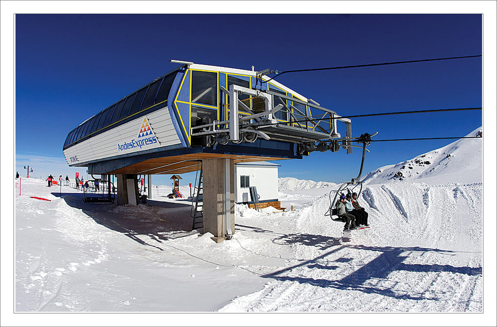 Valle Nevado, near Santiago, offers access to the largest skiable domain in South America: nearly 7,000 acres. With such a vast amount of terrain the resort caters to all levels of skiers and snowboarders