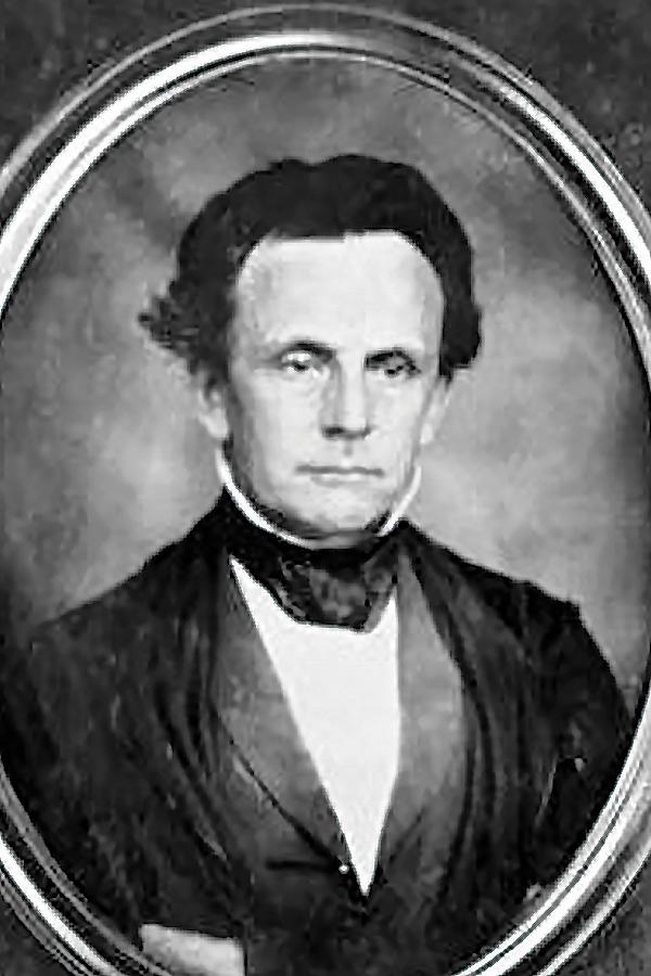 Bishop George Foster Pierce (1811-1884).