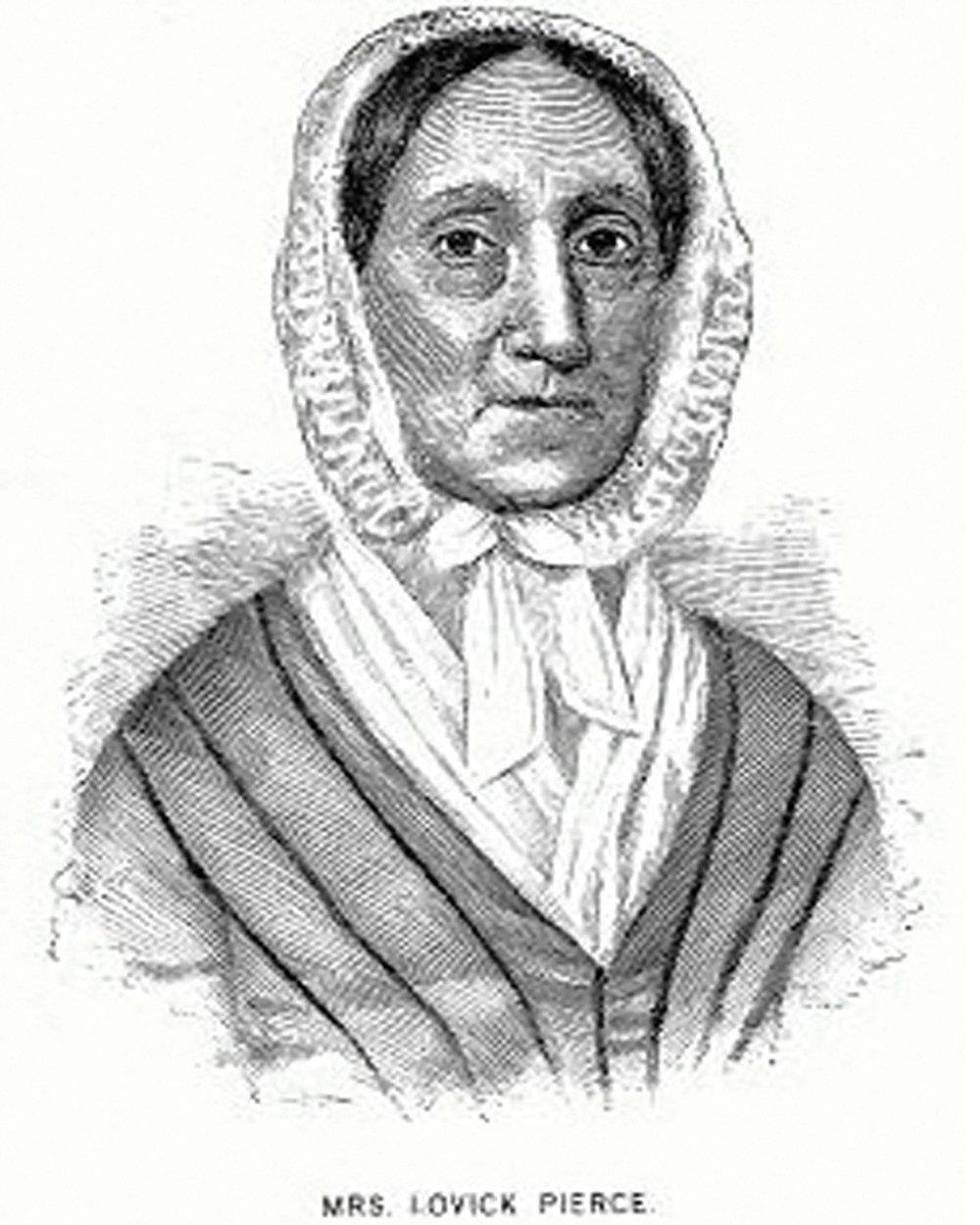 Ann Martin Foster Pierce (1790 - 1850)